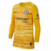 Chelsea 2019-2020 Goalkeeper Shirt (Gold) - Kids