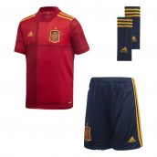 Spain 2020-2021 Home Youth Kit