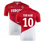 2019-2020 AS Monaco Kappa Home Shirt (Your Name)