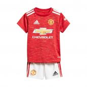 Man Utd 2020-2021 Home Baby Kit