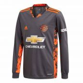 Man Utd 2020-2021 Goalkeeper Shirt (Black)