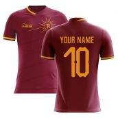 2020-2021 Roma Home Concept Football Shirt (Your Name)
