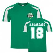 Andres Guardado Betis Sports Training Jersey (Green)