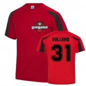 Kevin Volland Leverkusen Sports Training Jersey (Red)
