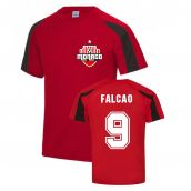 Radamel Falcao Monaco Sports Training Jersey (Red)