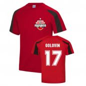 Aleksandr Golovin Monaco Sports Training Jersey (Red)