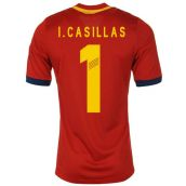 Spain 13-14 Home Shirt (Casillas 1)
