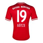 Bayern Munich 13-14 Home Shirt (Gotze 19) - Kids