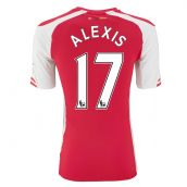 Arsenal 14-15 Home Shirt (Alexis 17)