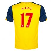 Arsenal 14-15 Away Shirt (Alexis 17)