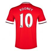 Manchester United 14-15 Home Shirt (Rooney 10) - Kids