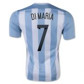 Argentina 15-16 Home Shirt (Di Maria 7) - Kids