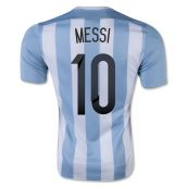 Argentina 15-16 Home Shirt (Messi 10) - Kids