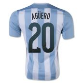 Argentina 15-16 Home Shirt (Aguero 20) - Kids