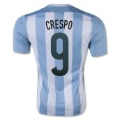 Argentina 15-16 Home Shirt (Crespo 9) - Kids