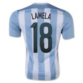 Argentina 15-16 Home Shirt (Lamela 18) - Kids