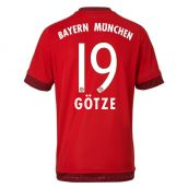 Bayern Munich 15-16 Home Shirt (Gotze 19) - Kids