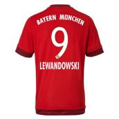 Bayern Munich 15-16 Home Shirt (Lewandowski 9) - Kids