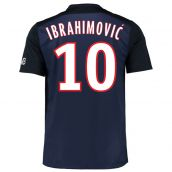 PSG 15-16 Home Shirt (Ibrahimovic 10) - Kids