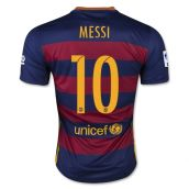 Barcelona 15-16 Home Shirt (Messi 10) - Kids