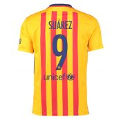 Barcelona 15-16 Away Shirt (Suarez 9) - Kids