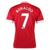 Man United 15-16 Home Shirt (Ronaldo 7) - Kids