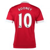 Man United 15-16 Home Shirt (Rooney 10) - Kids
