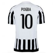 Juventus 15-16 Home Shirt (Pogba 10)