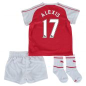 Arsenal 15-16 Home Baby Kit (Alexis 17)