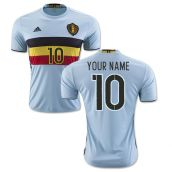 Belgium 2016-2017 Away Shirt (Your Name)