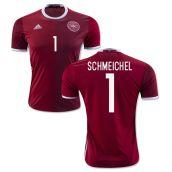 2016-2017 Denmark Home Shirt (Schmeichel 1) - Kids 4bde2288c