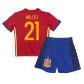 2016-2017 Spain Home Mini Kit (Nolito 21)