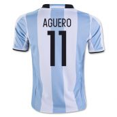 2016-17 Argentina Home Shirt (Aguero 11) - Kids