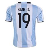 2016-17 Argentina Home Shirt (Banega 19) - Kids