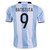 2016-17 Argentina Home Shirt (Batistuta 9) - Kids