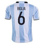 2016-17 Argentina Home Shirt (Biglia 6) - Kids