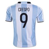 2016-17 Argentina Home Shirt (Crespo 9) - Kids
