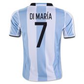 2016-17 Argentina Home Shirt (Di Maria 7) - Kids
