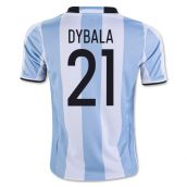 2016-17 Argentina Home Shirt (Dybala 21) - Kids