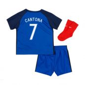 France 16-17 Home Baby Kit (Cantona 7)