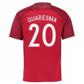 Portugal 16-17 Home Shirt (Quaresma 20)