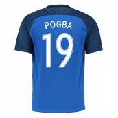 France 16-17 Home Shirt (Pogba 19)