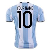 2016-17 Argentina Home Shirt (Your Name) -Kids
