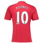 2016-17 Manchester United Home Shirt (Rooney 10) - Kids