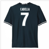 2016-17 Marseille Away Shirt (Cabella 7) - Kids