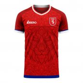 Czech Republic 2020-2021 Home Concept Football Kit (Libero)