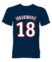 Zlatan Ibrahimovic PSG Hero T-Shirt (Navy)