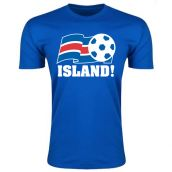 Iceland Football Federation T-Shirt (Blue)