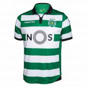 Sporting Lisbon 2016-2017 Authentic Home Shirt
