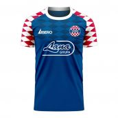 Dinamo Zagreb 2020-2021 Home Concept Football Kit (Libero) - Kids